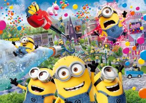 Despicable Me, Minion Made and all related marks and characters are trademarks and copyrights of Universal Studios. Licensed by Universal Studios Licensing LLC. All Rights Reserved. © & ® Universal Studios. All rights reserved.