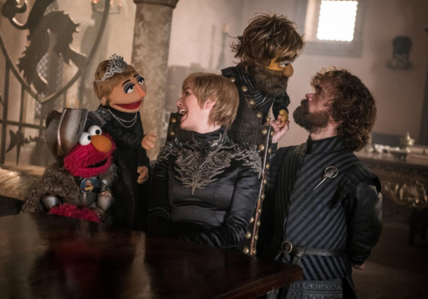 Game of thrones x Sesame Street