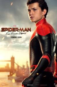 映画『Spider-Man: Far From Home』(邦題『スパイダーマン:ファー・フロム・ホーム』)