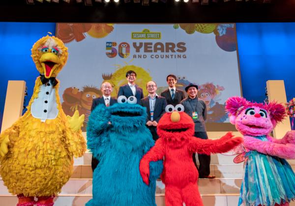 セサミストリート 50周年記念イベント『Sesame Street Education Summit in Osaka』