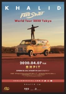 Free Spirit World Tour 2020 Tokyo