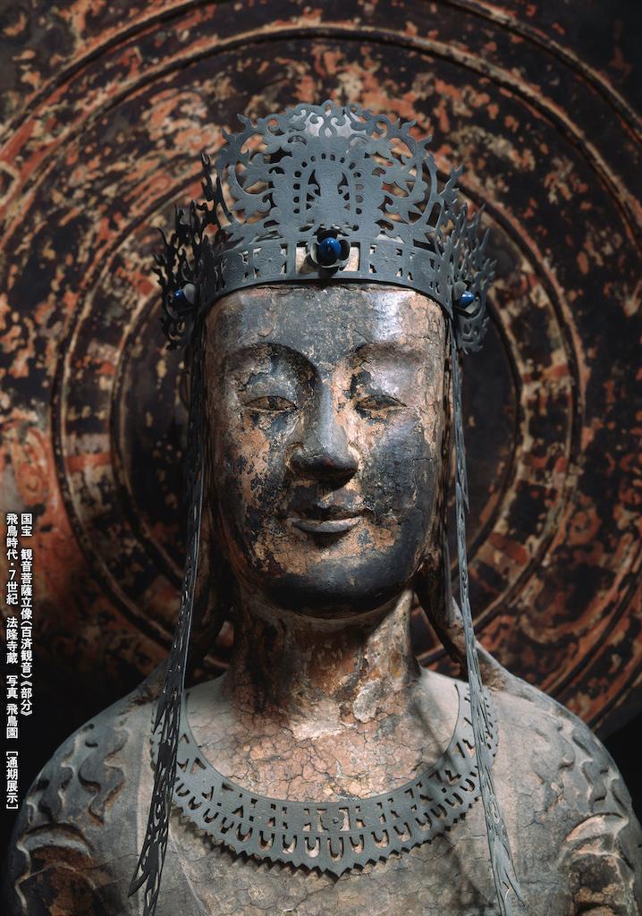 特別展『法隆寺金堂壁画と百済観音』