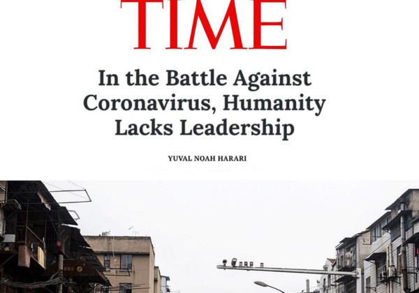 TIME『In the Battle Against Coronavirus, Humanity Lacks Leadership』