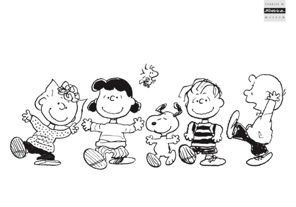 PEANUTS Coloring Sheets