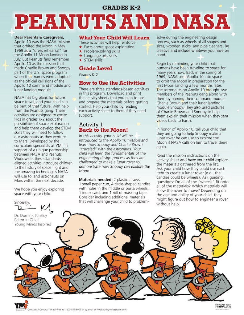 The Peanuts Gang Family Resource Gallery