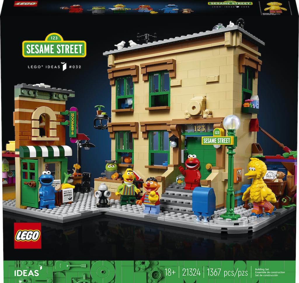 LEGO®︎ Ideas 123 Sesame Street