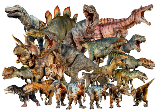 ディノアライブの恐竜たち展