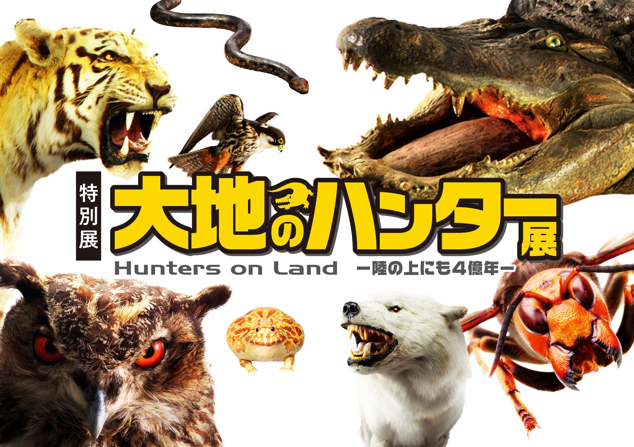 特別展『大地のハンター展 〜陸の上にも4億年〜』