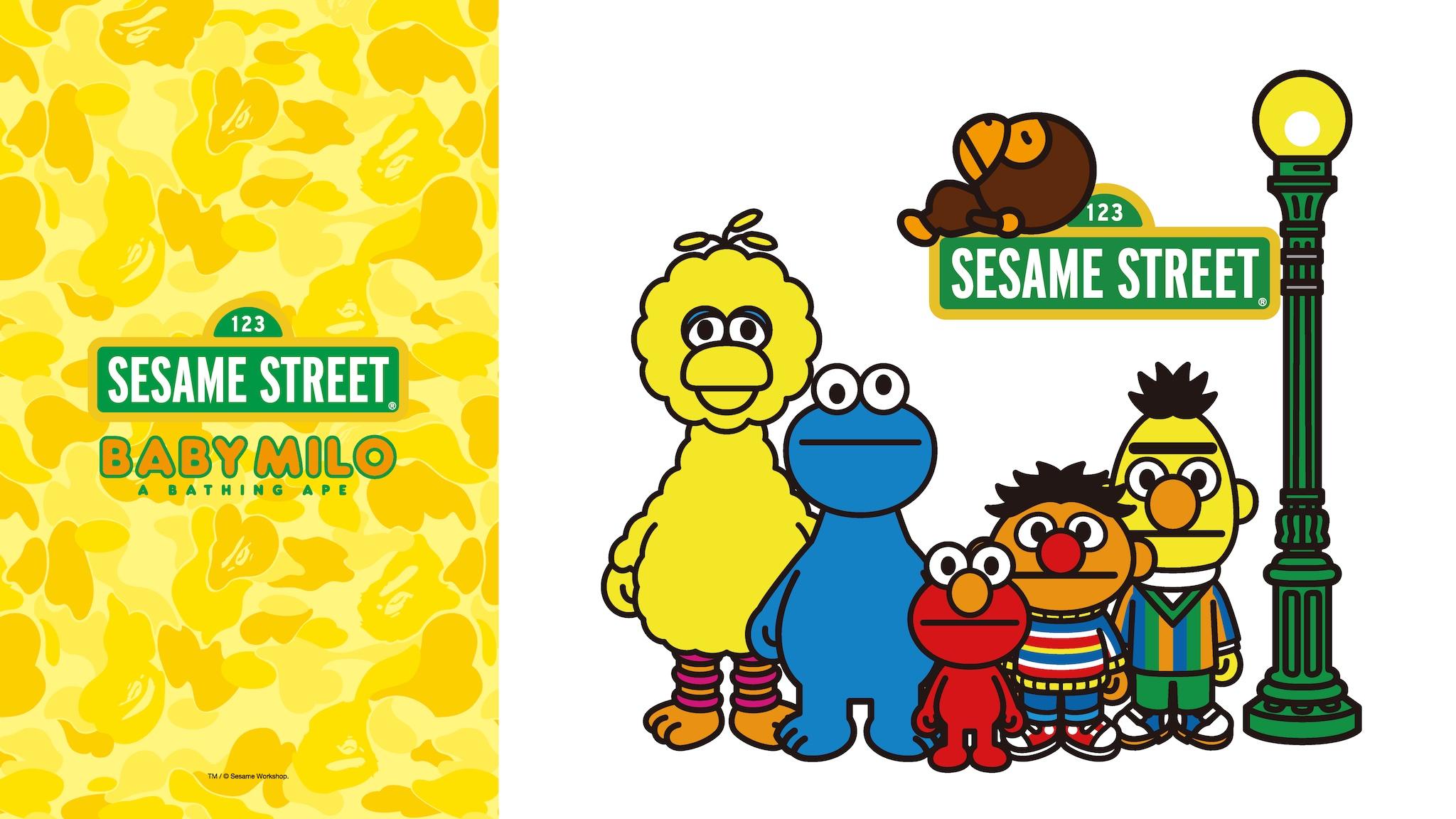 BAPE®︎ x Sesame Street