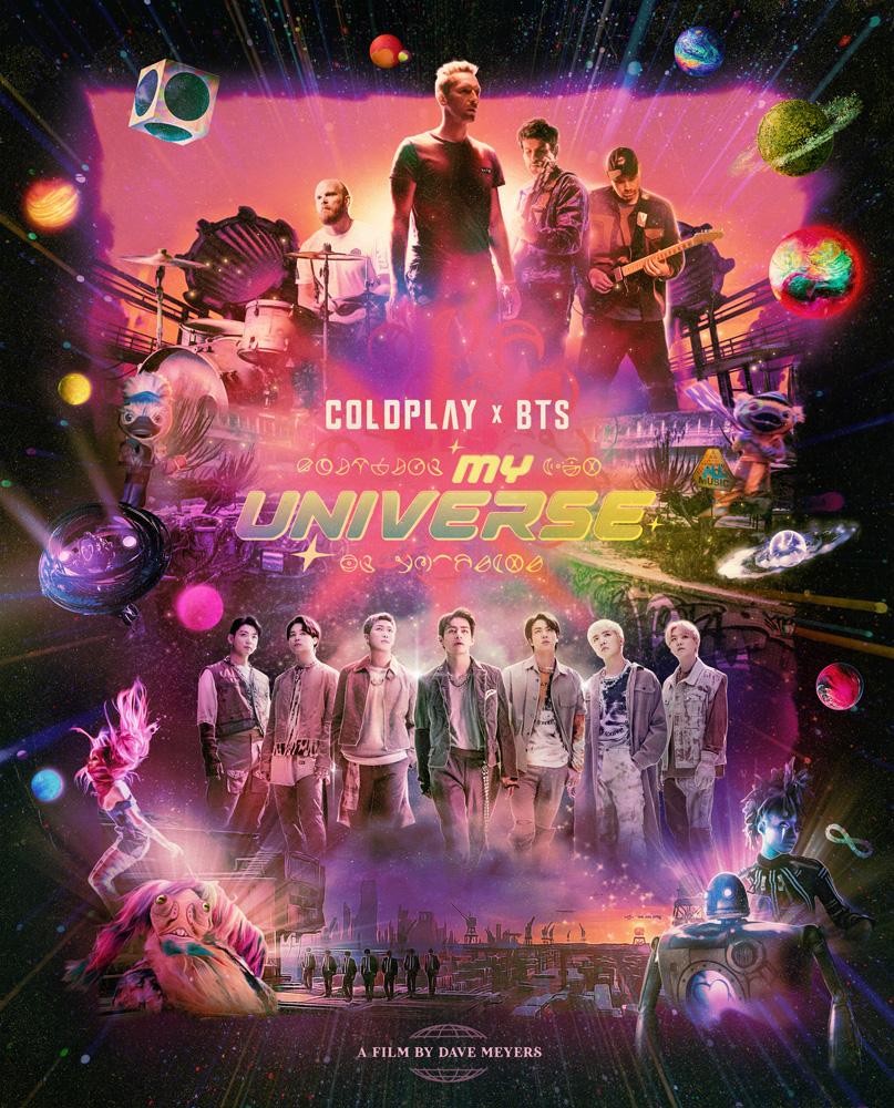 "Coldplay x BTS ""My Universe"""